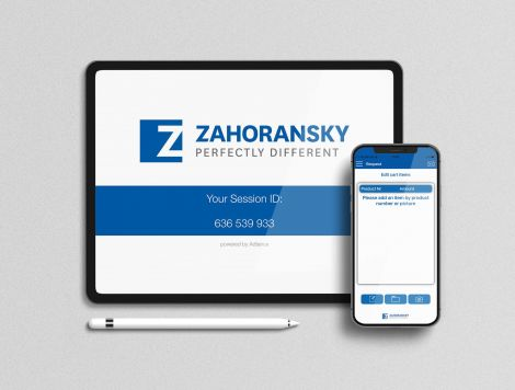 ZAHORANSKY introduces new apps for contactless support and direct spare parts orders
